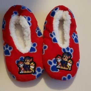 Paw patrol slippers with rubber slip resistant